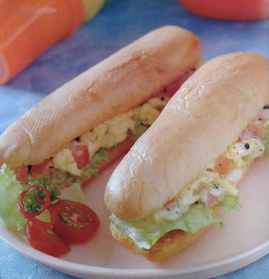 Gambar Resep Sandwich Racik Telur