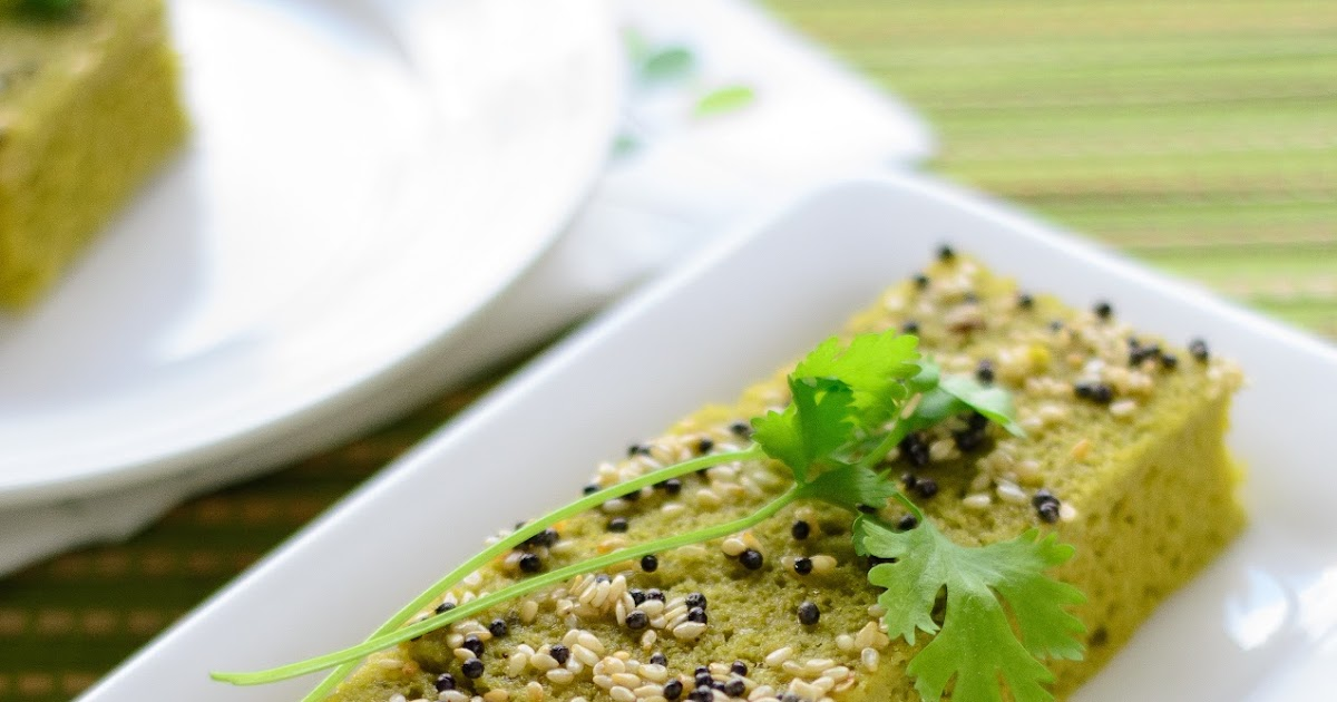 Indian Savory Cake Lentil Flour Recipes
