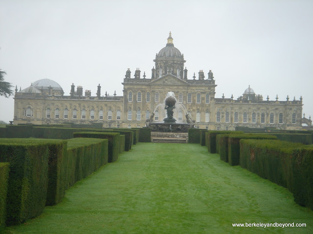exterior of Castle Howard in York, England