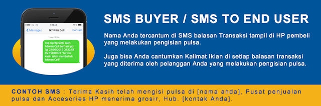 SMS Buyer Niki Pulsa