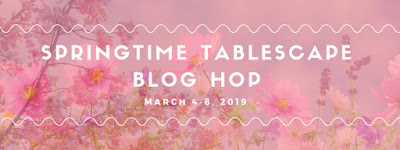 Springtime tablecape hop