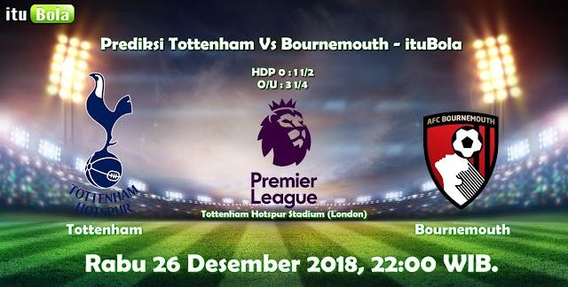 Prediksi Tottenham Vs Bournemouth - ituBola