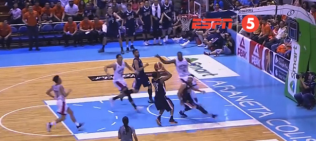 Japeth Aguilar with the NASTY Block On Chris Newsome (VIDEO)