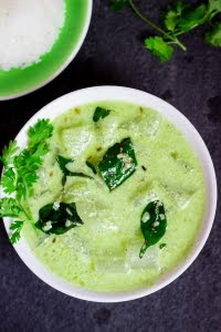 How to make majjige huli recipe at www.oneteaspoonoflife.com