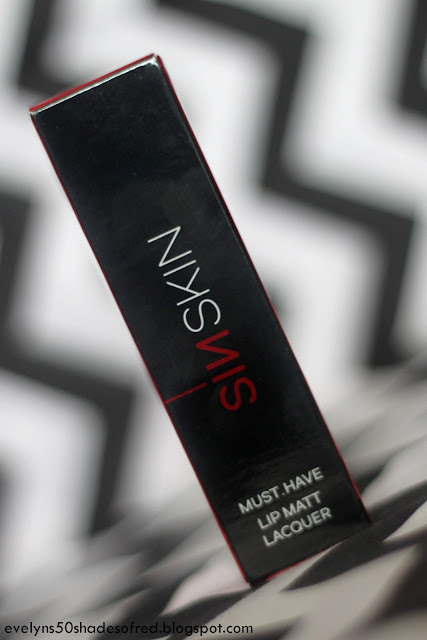 SINSKIN Must.Have, Lip Matte Laquer #423 Nightshade