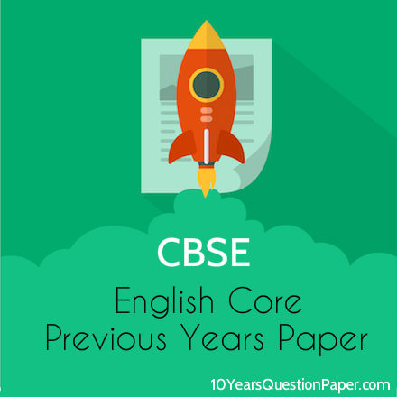 CBSE Class 12 Previous year English question paper