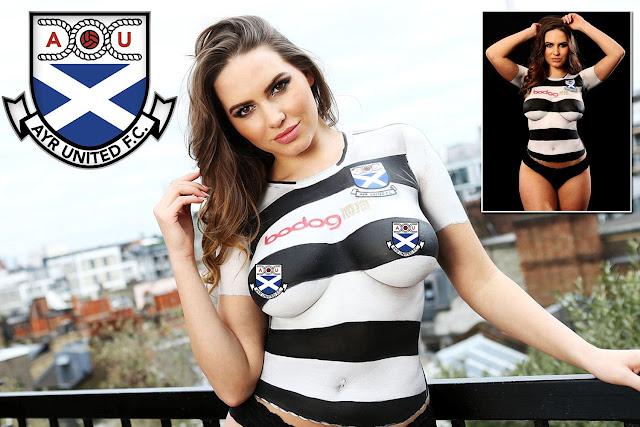 Sexy Ayr United: Sabine Jemeljanova