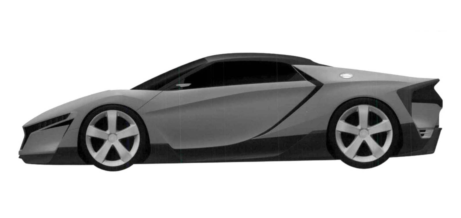 Honda Trademarks ZSX Nameplate, Is It For A Baby NSX?