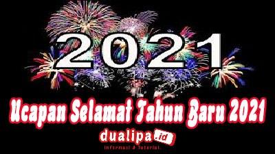 Status ucapan selamat tahun baru 2021