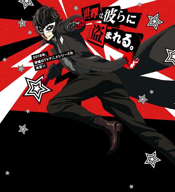Anime de Persona 5 anunciado para 2018