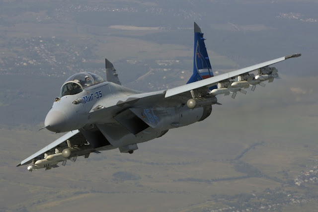 RUSSIA PLANS TU BUY MIG-35 FIGHTER JET FROM 2018