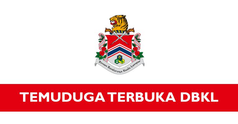 Temuduga Terbuka di Dewan Bandaraya Kuala Lumpur DBKL