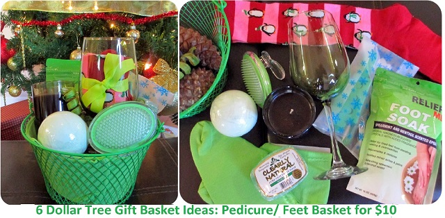 pedicure feet basket