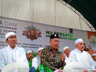 Harlah NU 96, PWNU Jawa Timur Perkuat ke-NU-an PCNU Madura Raya