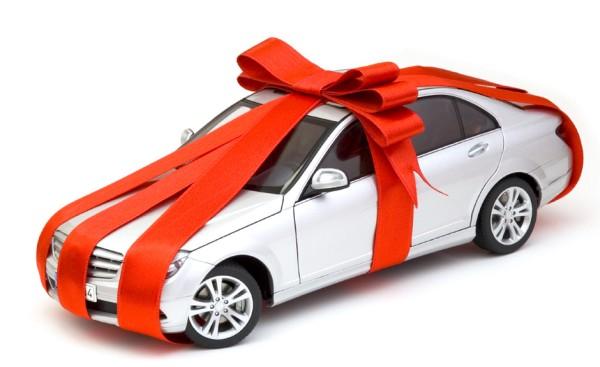 ilginç araba hediyesi
