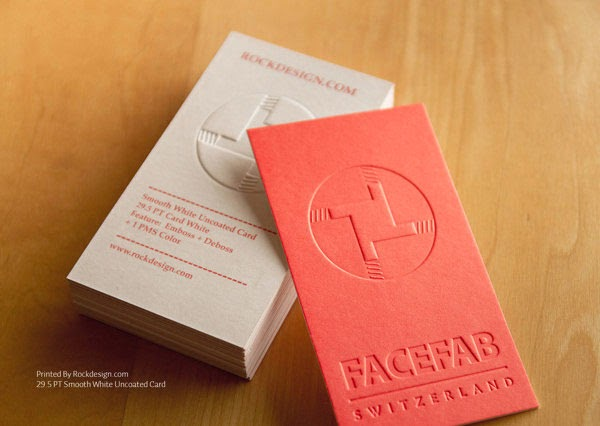 50 Elegant Embossed Business Cards - Jayce-o-Yesta