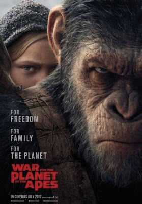 Trailer Film War for the Planet of the Apes 2017