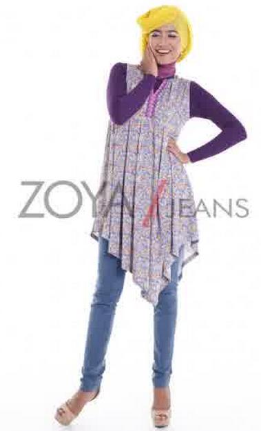Koleksi Model Baju Muslim Zoya untuk Perempuan