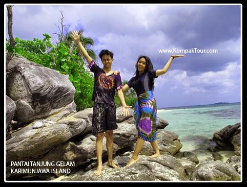 Paket Wisata Pantai Tanjung Gelam Karimunjawa Murah