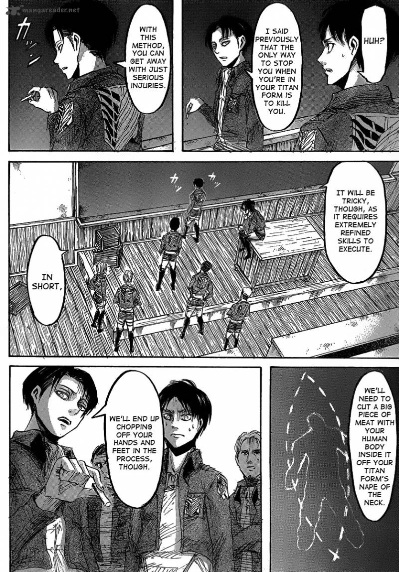 Shingeki no Kyojin Ch 22: The Formation For Long Distance Enemy Detection