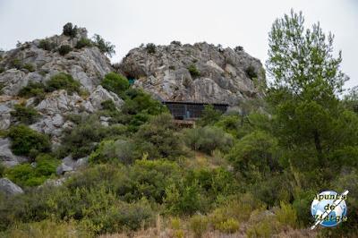 Cueva de Tautavel en lo alto