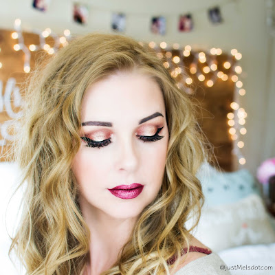 Christmas Inspired Makeup justmelsdotcom