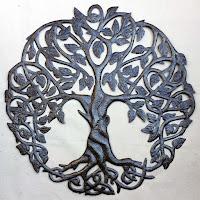 Дерево жизни с большими корнями