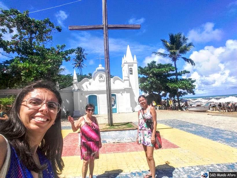 O que fazer na Praia do Forte, Bahia - igreja de São Francisco de Assis
