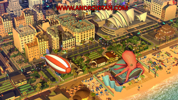 Free Download SimCity Buildlt Mod Apk v1.16.79.56852 Unlimited Money/Gold/Key Android Terbaru 2017