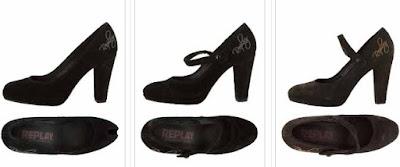 zapatos tacones replay