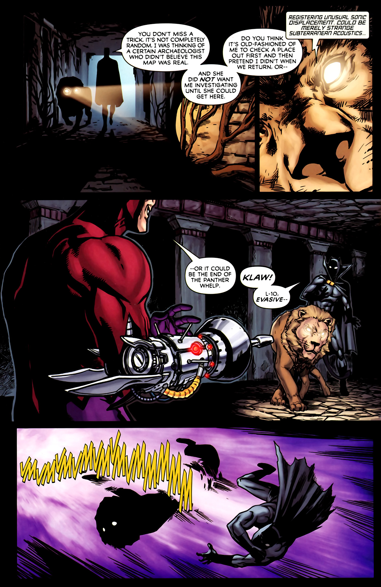 Read online Exiles (2009) comic -  Issue #1 - 9