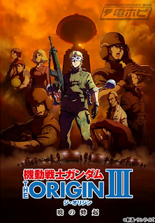 Film Mobile Suit Gundam: The Origin III - Dawn of Rebellion (2016) Bluray