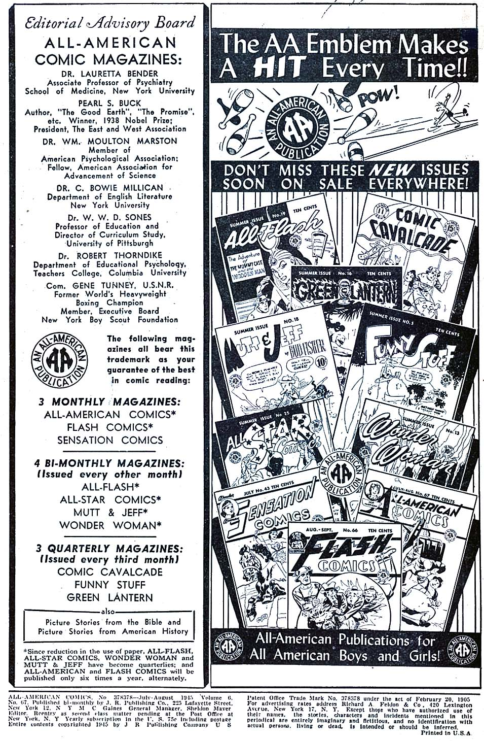 Read online All-American Comics (1939) comic -  Issue #67 - 2