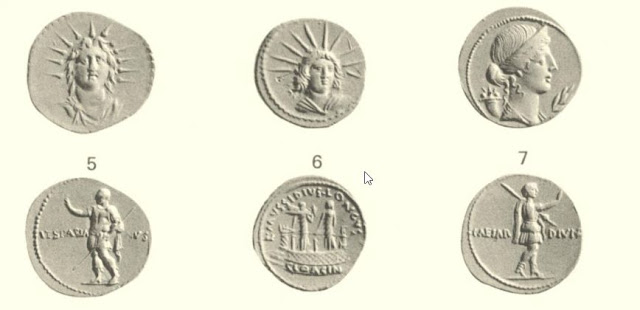 monedas restauradas de Vespasiano