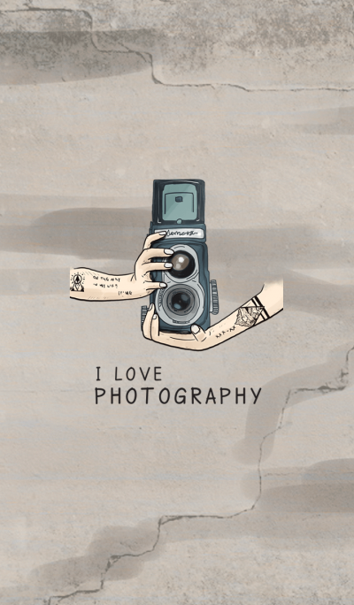 i love photography (Vintage Version)