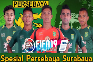 Download FTS Mod FIFA 19 Spesial Persebaya Surabaya 2019