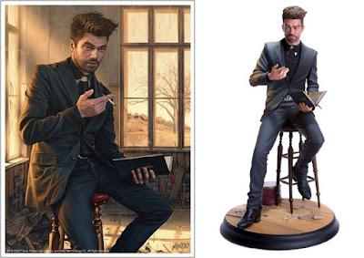 AMC's Preacher Television Series Jesse Custer Polystone Statue by Mondo x Rory Kurtz