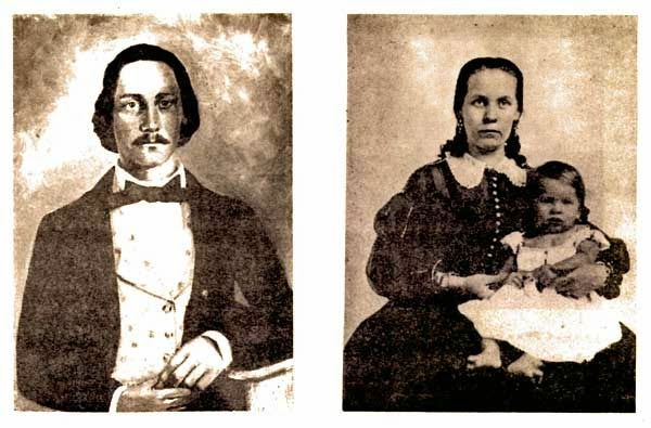 B. F. and Eliza Pratt Tisdale with William Tisdale, belletisdale.blogspot.com
