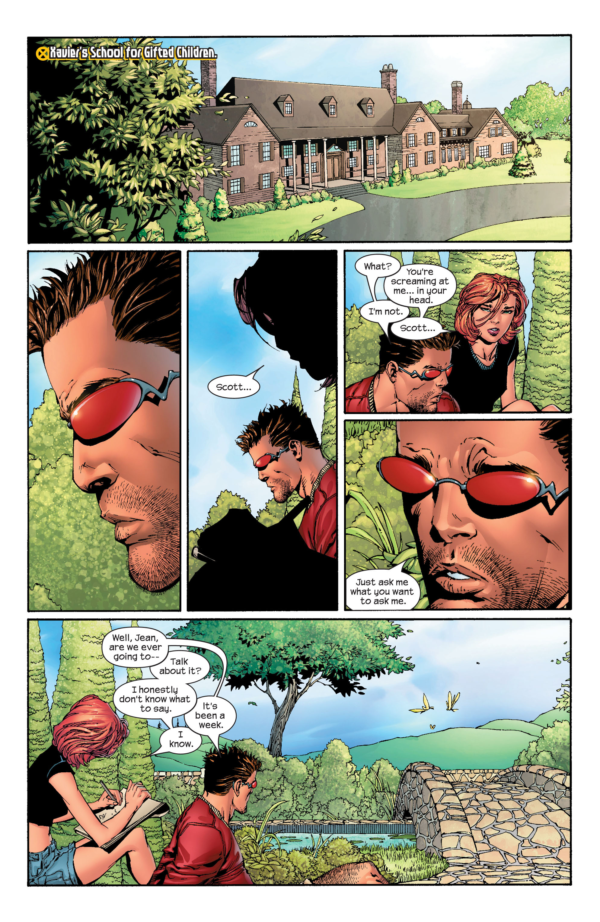 Read online Ultimate X-Men comic -  Issue #42 - 4
