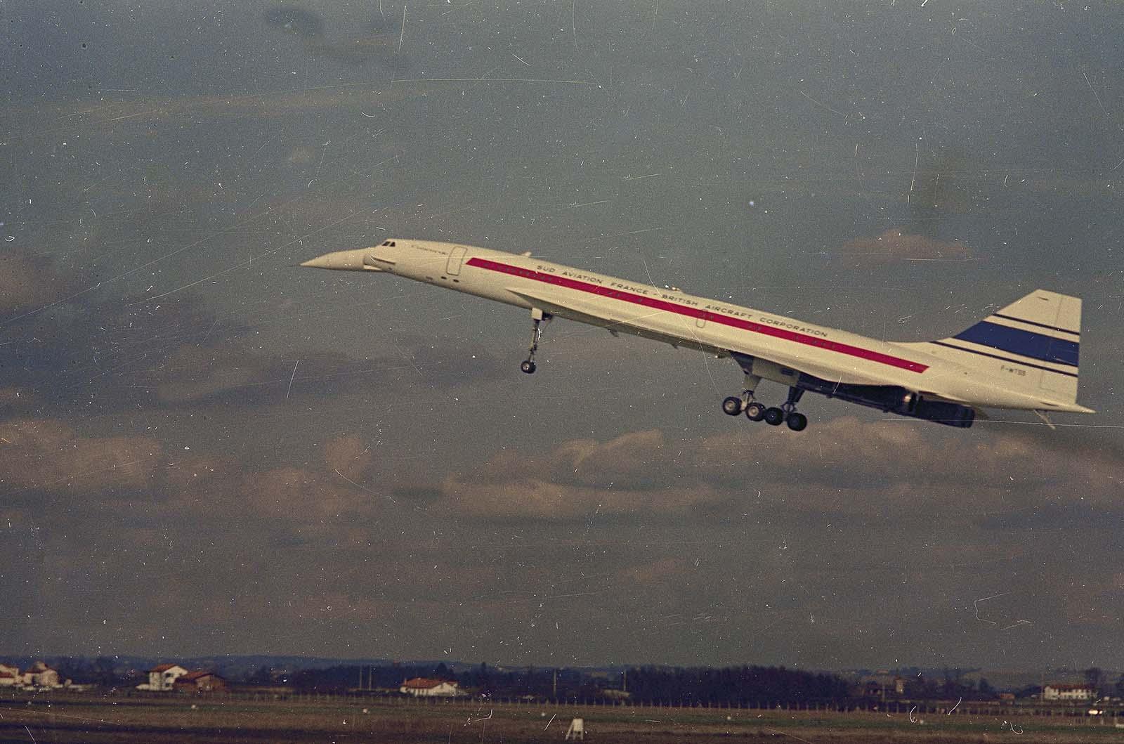 Az első Concorde prototípus előzetes repülését 1969 márciusában tette meg.