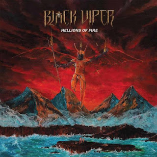 "Ο δίσκος των Black Viper ""Hellions Of Fire"""