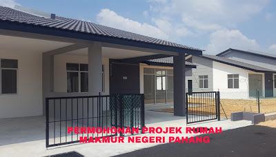 Permohonan Projek Rumah Makmur Negeri Pahang 2019 Online
