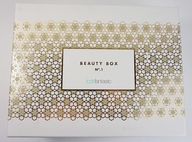 LookFantastic - Beauty Box Oktober 2015, Nuxe, Elemis, Balance Me, Murad, Monu, Percy & Reed, gold