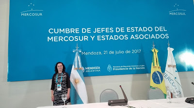 Gabriela Cetlinas, intérprete de portugués, Cancillería, Casa de Gobierno, Traductores de portugués