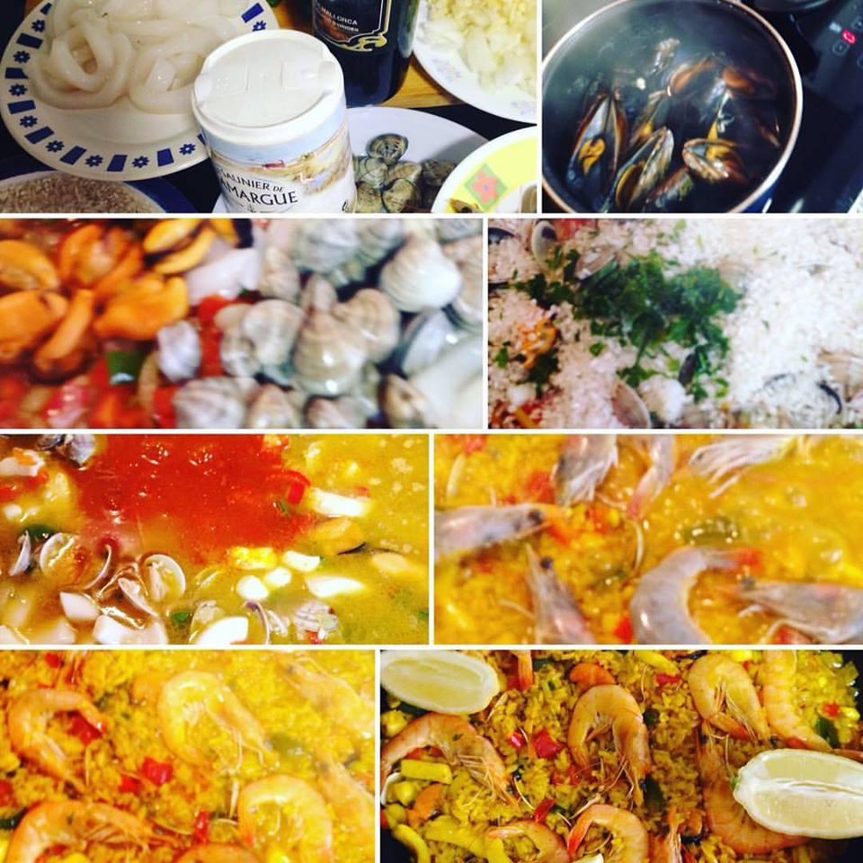 Quecomemoshoy arroz paella de pescado paperblog - Paella de pescado ...