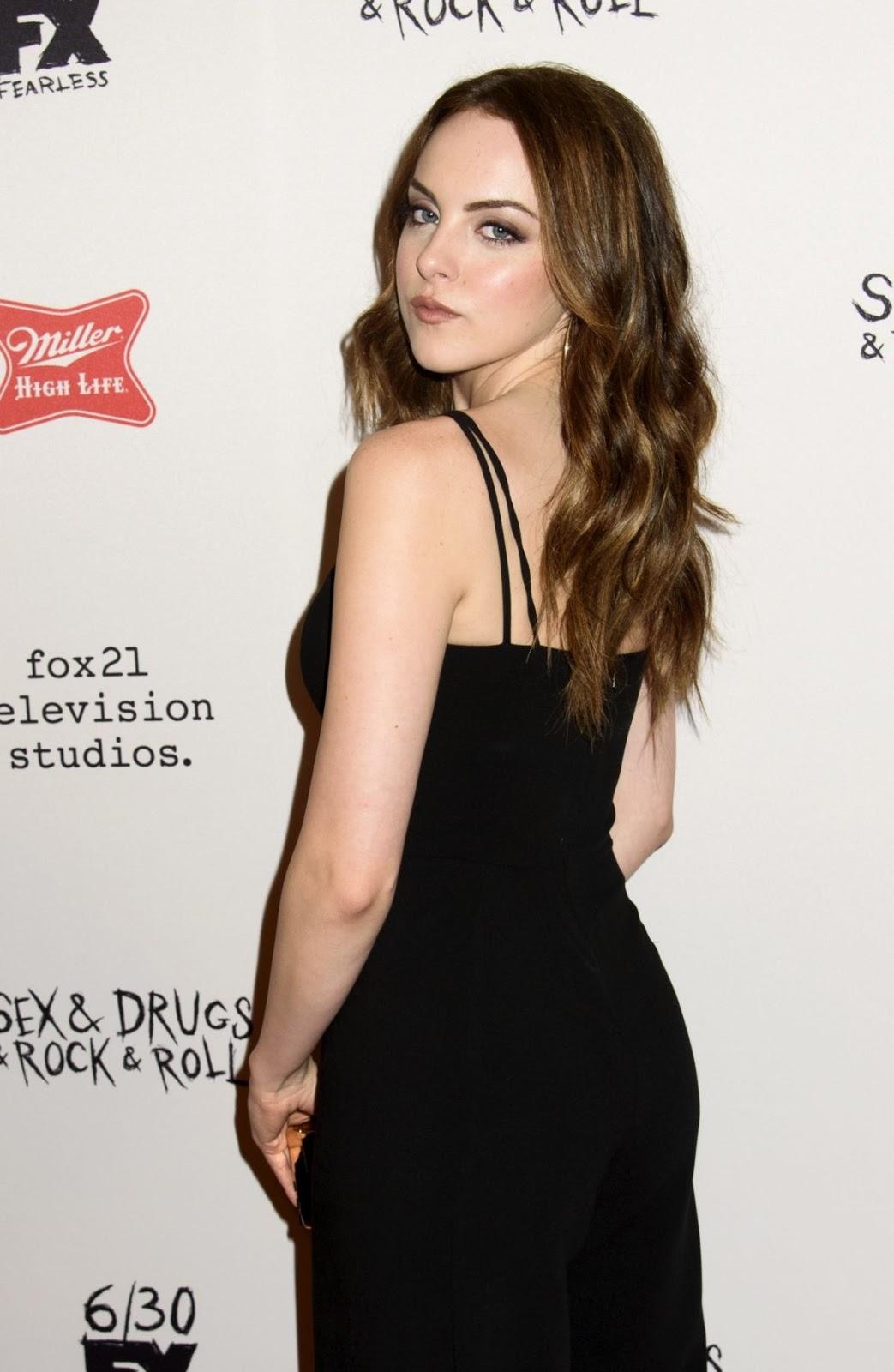 Elizabeth Gillies at Sex Drugs Rock Roll Season 2 Premiere