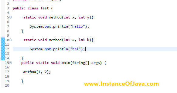 Core Java Multiple Choice Questions With Answers On Method Overloading Instanceofjava