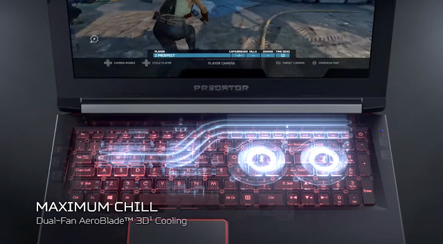 Acer Predator Helios 300 cooling