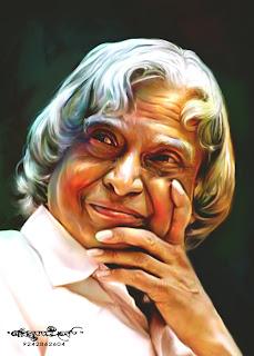 Dr Abdul Kalam Quotes Wallpapers Chitthara Digital Paintings Abdul Kalam President Of India