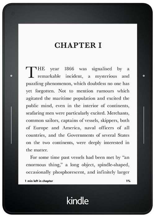 Kindle Voyage - nowy czytnik Amazonu